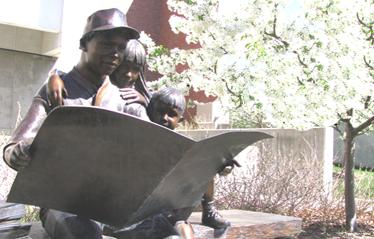 CEHS Statue