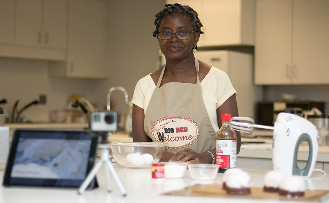 CYFS faculty affiliate Georgia Jones, associate professor of nutrition and health sciences, is starting a technology innovation project with a grant from CEHS. She is working with CYFS to produce videos for students, which will be filmed and edited using only mobile devices.