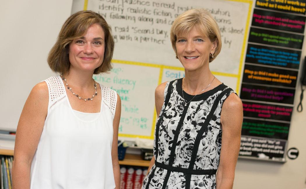 Amanda Witte and Susan Sheridan