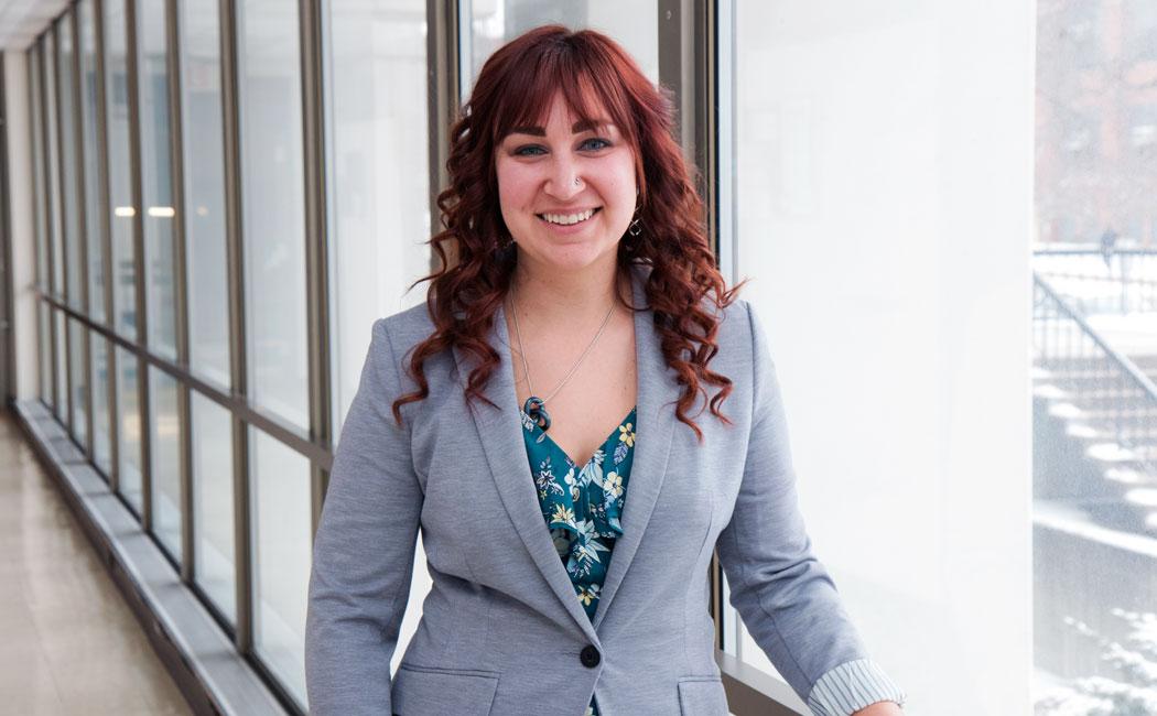 Kaitlyn Loogman, CYFS graduate student