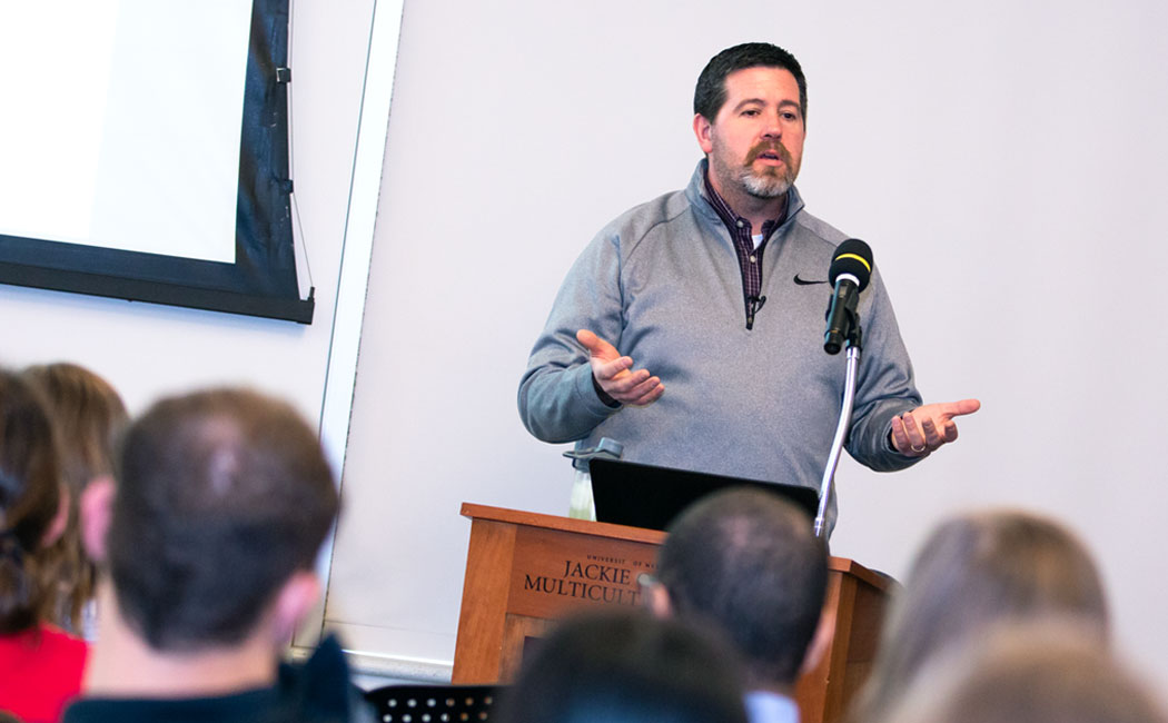 James Bovaird, MAP Academy director, leads a Nov. 30 Methodology Applications Series presentation.
