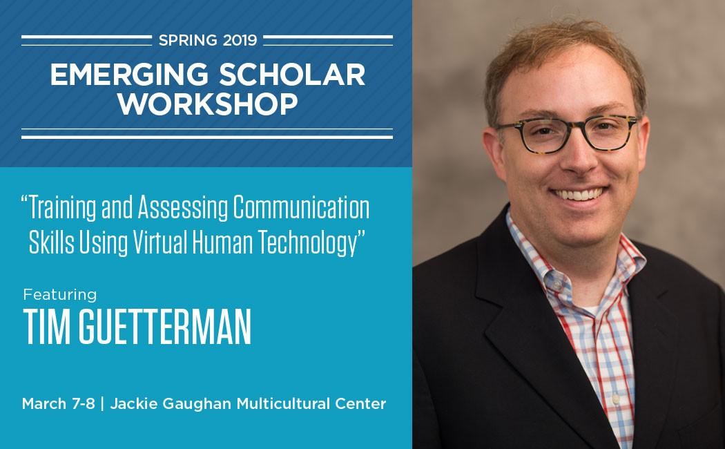 Registration open for Spring 2019 Emerging Scholar Workshop