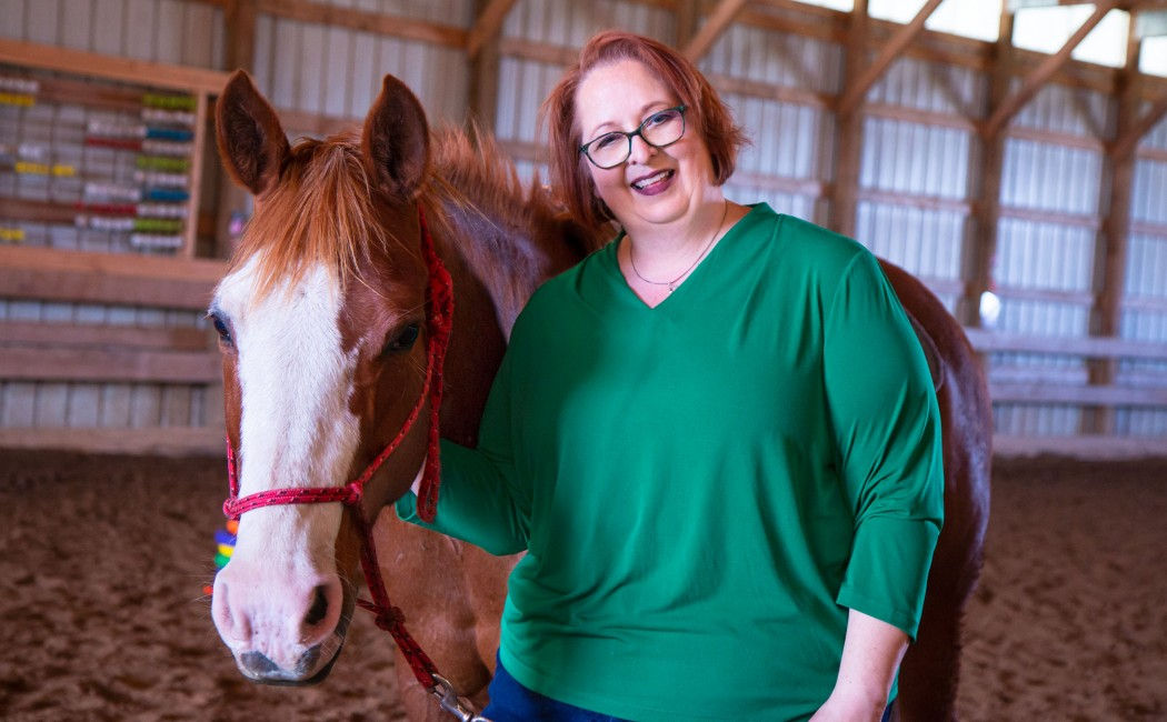 Children take the reins over ADHD challenges with help from horses