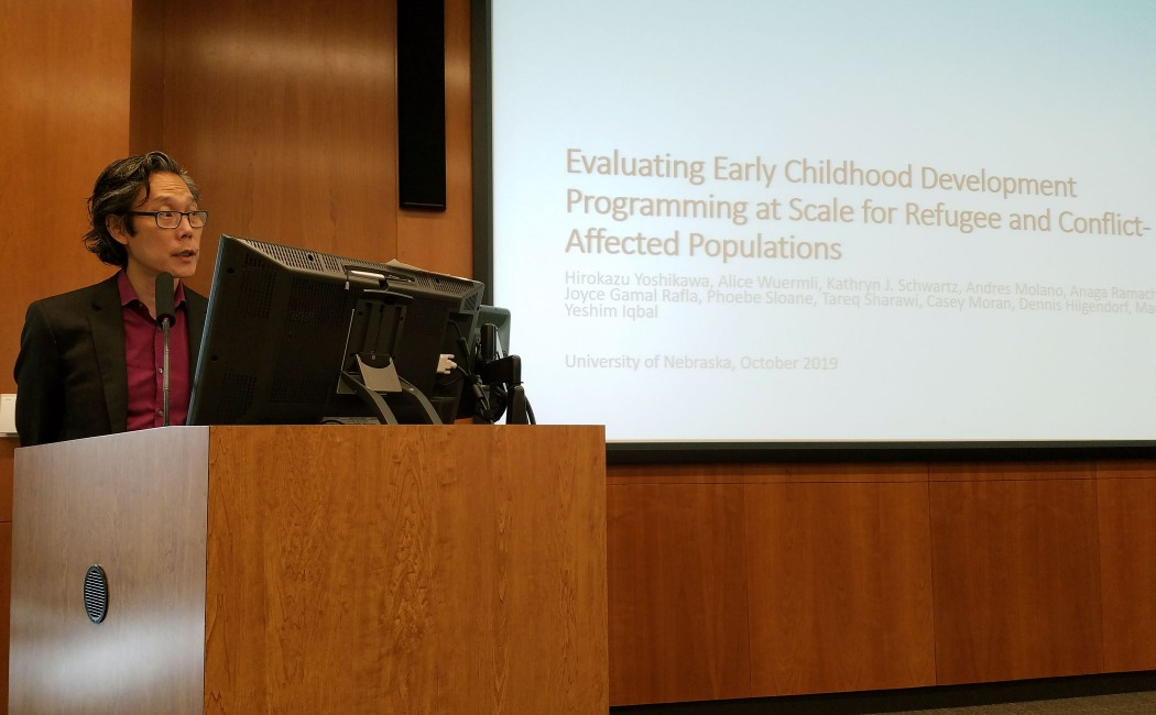NAECR Networking presentation highlights global child development