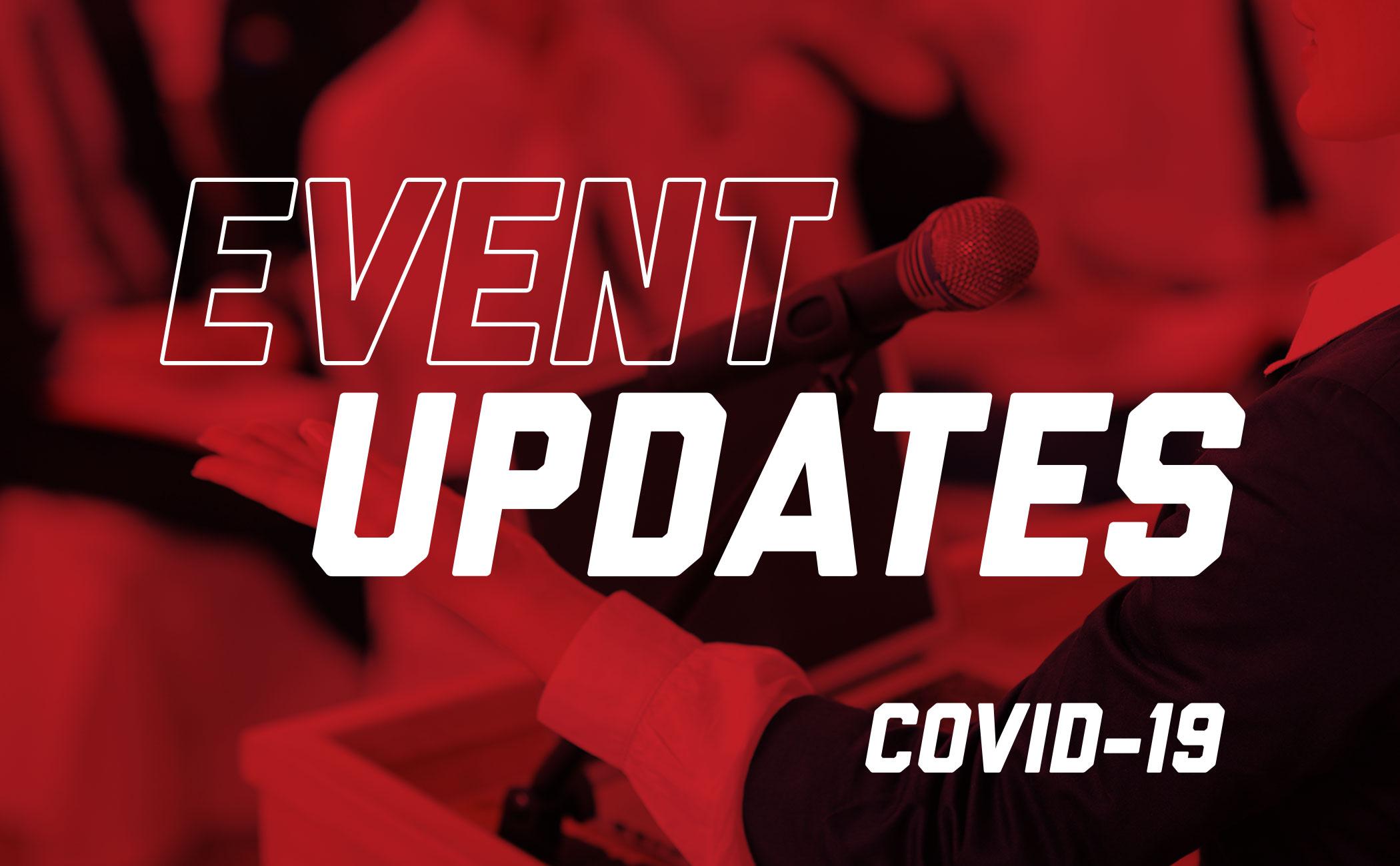 event updates covid-19